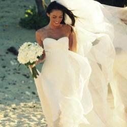 Megan Fox S Real Wedding Dress