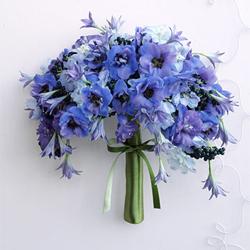 Blue Belles Weddinggawker