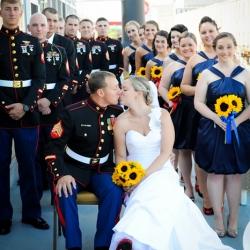 wilmington nc military wedding | weddinggawker