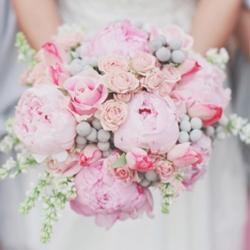 Romantic pink and grey wedding weddinggawker romantic pink and grey wedding mightylinksfo