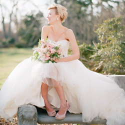 bride shoes gallery | weddinggawker