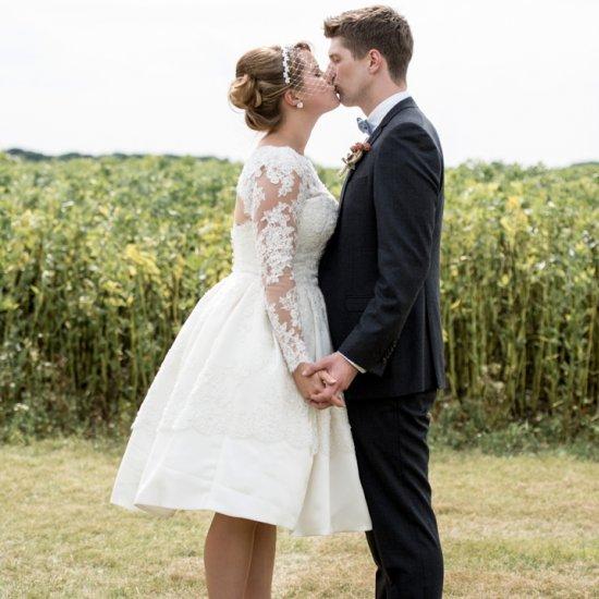 50s wedding dress gallery | weddinggawker