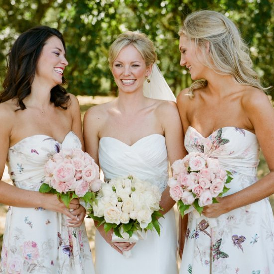 floral print gallery | weddinggawker