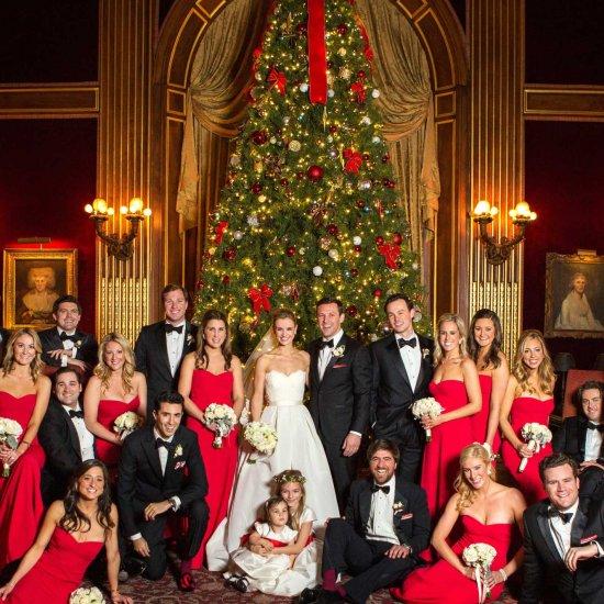 Christmas Theme Wedding Ideas