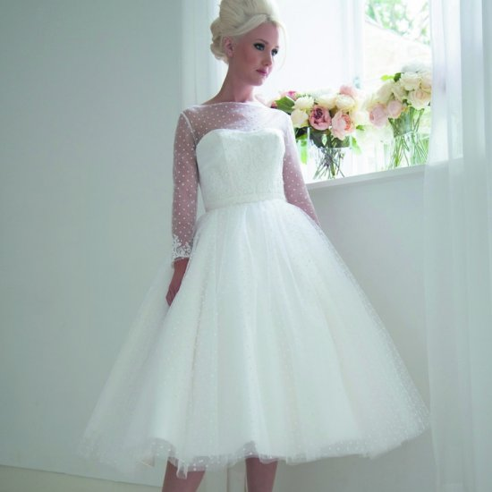 50s wedding dress gallery | weddinggawker