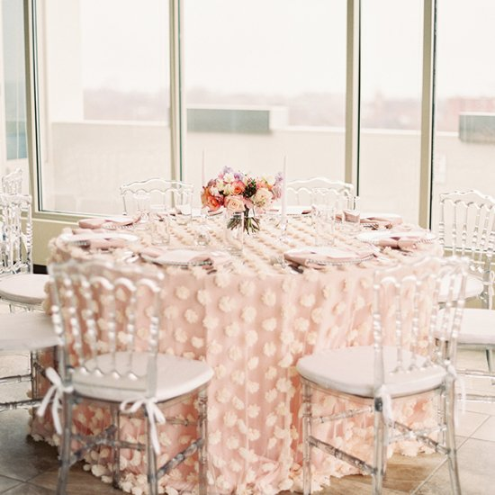 cotton candy inspired bridal shower