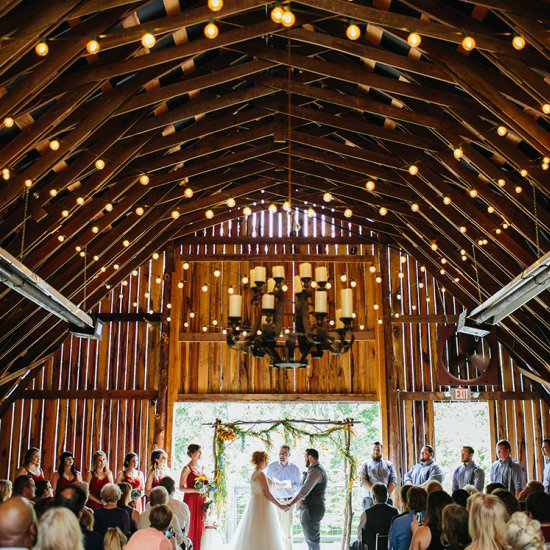 Quirky Rustic Barn Wedding