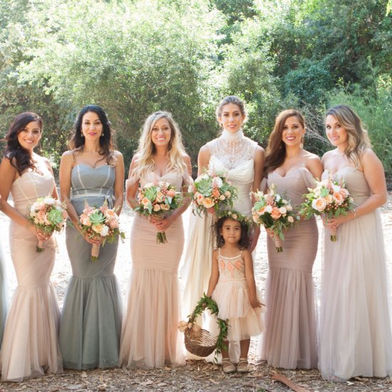 Multicolored Bridesmaid Dress Ideas