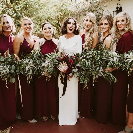 a2e12818392 burgundy bridesmaids dresses