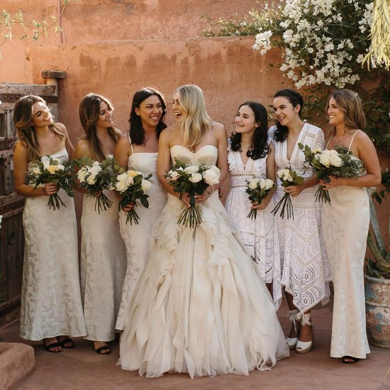 32 All White Bridesmaid Dresses