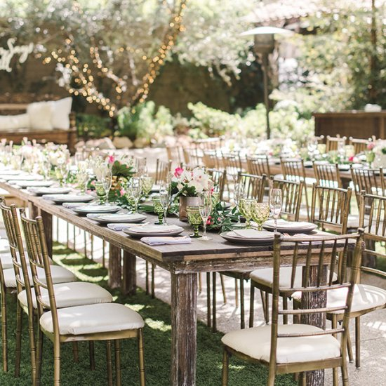 eclectic garden bridal shower