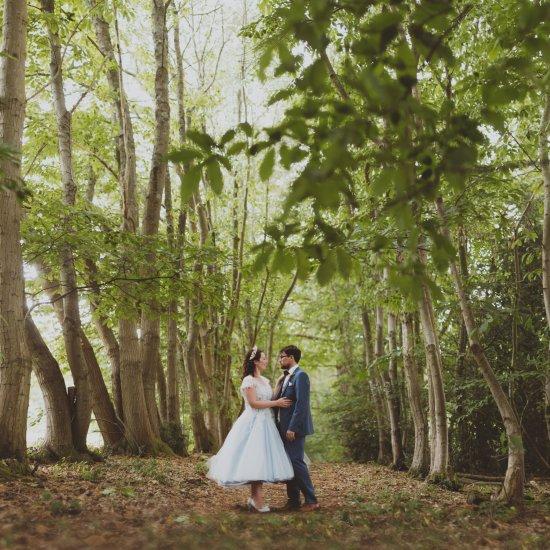 woodland wedding gallery | weddinggawker